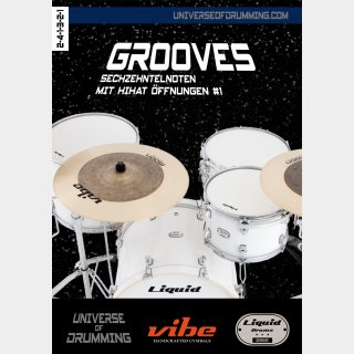Grooves Sixteenth Notes Hihat Openings #1