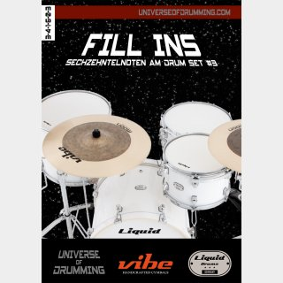 Fill Ins Sixteenth Notes Drum Set #3