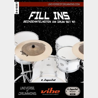 Fill Ins Sixteenth Notes Drum Set #7