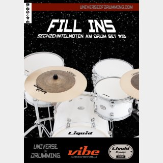 Fill Ins Sixteenth Notes Drum Set #10